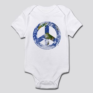 World Peace Sign East Infant Bodysuit