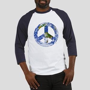 World Peace Sign East Baseball Jersey