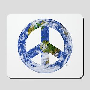 World Peace Sign East Mousepad