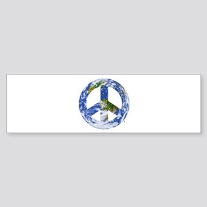 World Peace Sign East Bumper Sticker