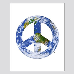 World Peace Sign East Small Poster