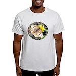 Butterfly on Flower Light T-Shirt
