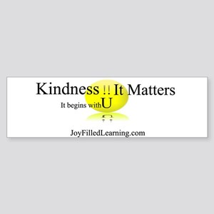 Kindness It Matters Sticker (Bumper)