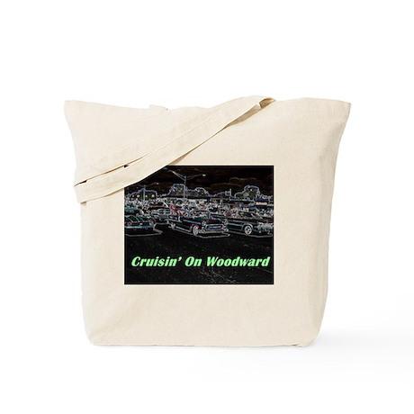 """Cruisin' On Woodward"" Tote Bag"