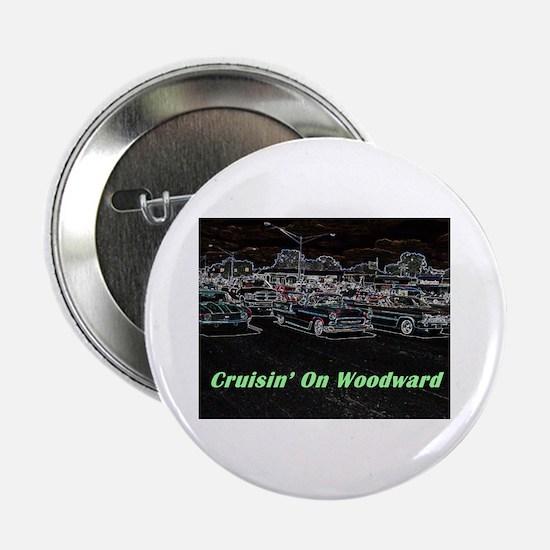 """""""Cruisin' On Woodward"""" 2.25"""" Button"""