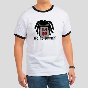 Riyah-Li Designs We Be Jammin Ringer T