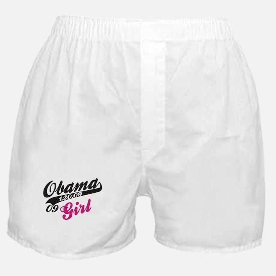 Obama Girl 09 Boxer Shorts