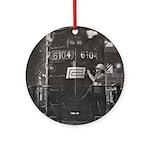 Penn Central Railroad 1968 Ornament (Round)