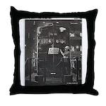 Penn Central Railroad 1968 Throw Pillow