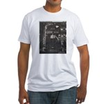 Penn Central Railroad 1968 Fitted T-Shirt