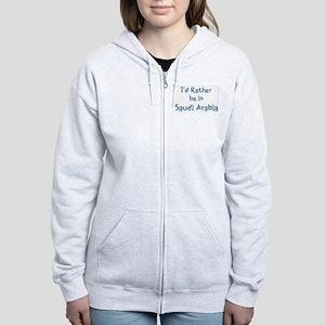 Rather be in Savannah Women's Zip Hoodie