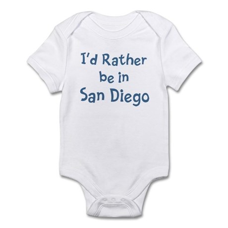 Rather be in San Diego Infant Bodysuit