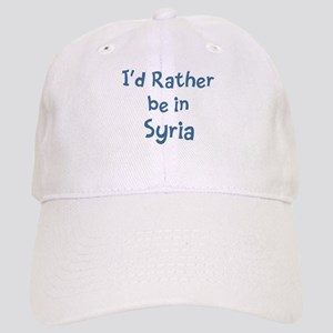 Rather be in Syria Cap