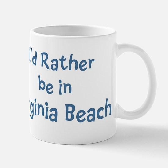 Rather be in Virginia Beach Mug
