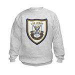 USS LEAHY Kids Sweatshirt