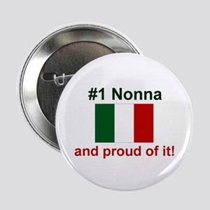 "#1 Nonna (Grandmother) 2.25"" Button (10 pack)"