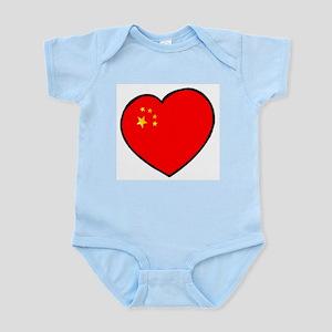 China Heart Infant Creeper
