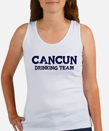 Cancun drinking team Women's Tank Top