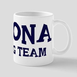 Corona drinking team Mug