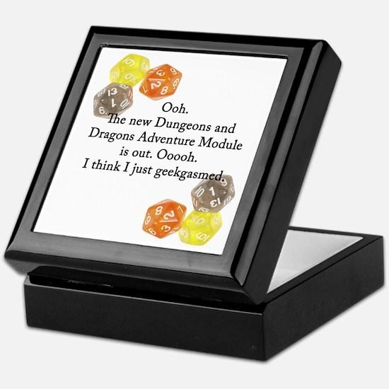Geekgasm Keepsake Box