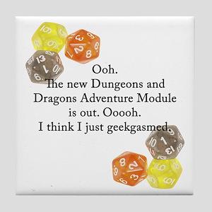 Geekgasm Tile Coaster