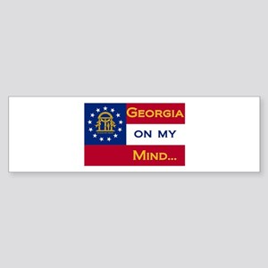 Georgia on my mind Bumper Sticker