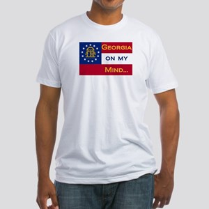 Georgia on my mind Fitted T-Shirt