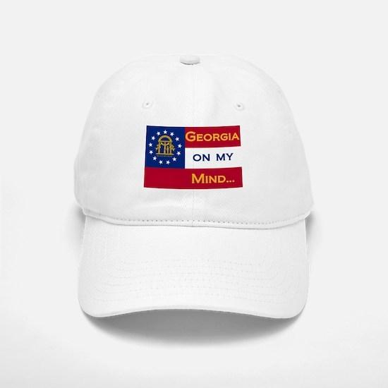 Georgia on my mind Baseball Baseball Cap