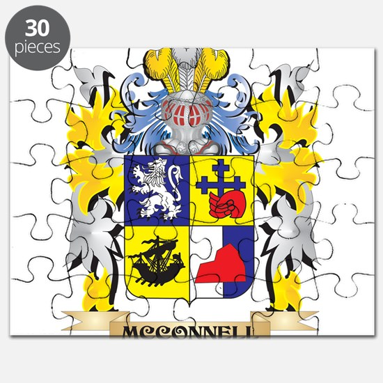Mcconnell Coat of Arms - Family Crest Puzzle