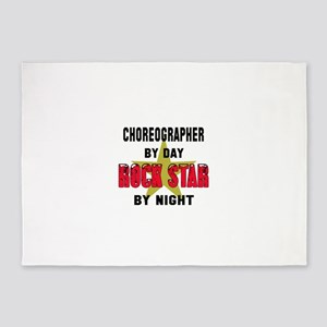 Climber By Day, Rock Star By night 5'x7'Area Rug
