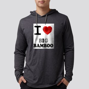 I LOVE - BIG BAMBOO:- Long Sleeve T-Shirt