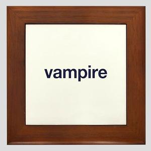 vampire Framed Tile