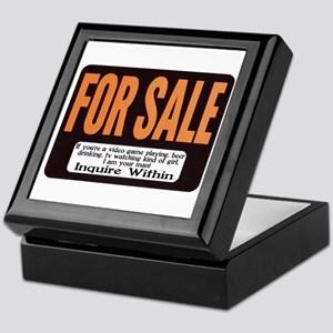 For Sale Keepsake Box