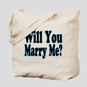 Will You Marry Me? His Tote Bag