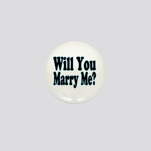 Will You Marry Me? His Mini Button