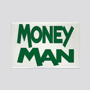 Money Man Rectangle Magnet