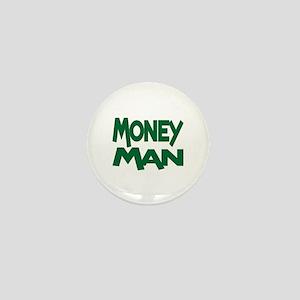 Money Man Mini Button