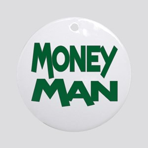 Money Man Ornament (Round)