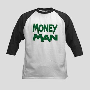 Money Man Kids Baseball Jersey
