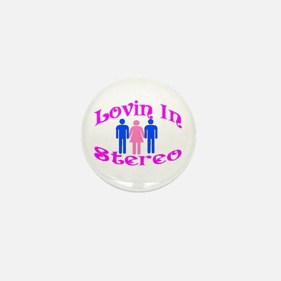 Woman Stereo Mini Button