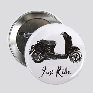 "Just Scoot 2.25"" Button"