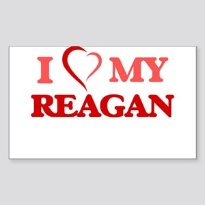 I love my Reagan Sticker
