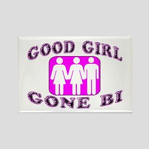 Good Girl Gone Bi Rectangle Magnet