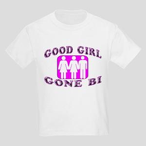 Good Girl Gone Bi Kids Light T-Shirt