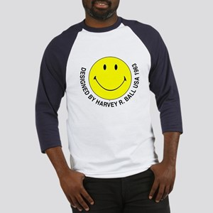 Silly Smiley #2 Baseball Jersey