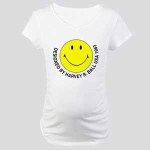 Silly Smiley #2 Maternity T-Shirt