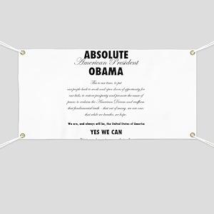 Absolute Obama! light Banner