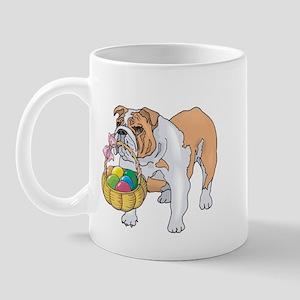 Bulldog Easter Mug