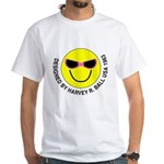 Silly Smiley #44 White T-Shirt