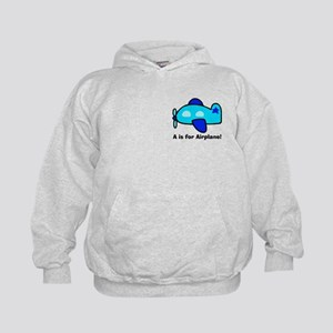 A is for Airplane! Kids Hoodie